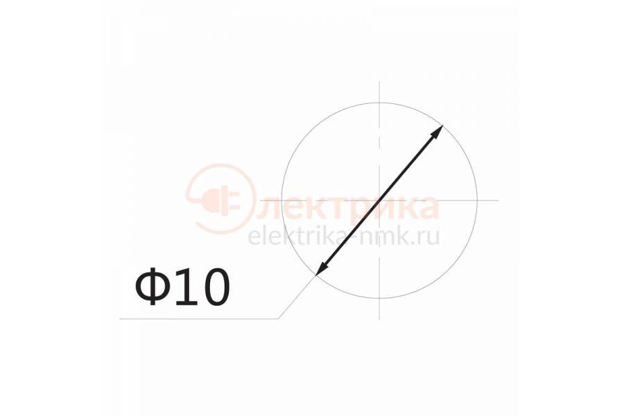 индикатор 12V d10 зеленый