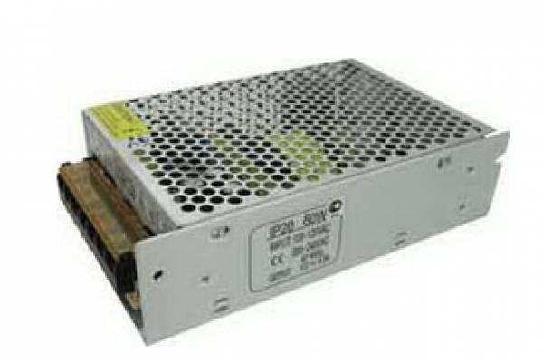 80W 12V IP20 трансформатор д/ленты Ecola