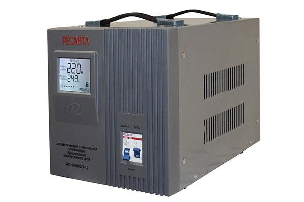 стабилизатор АСН-3000/1-Ц Ресанта