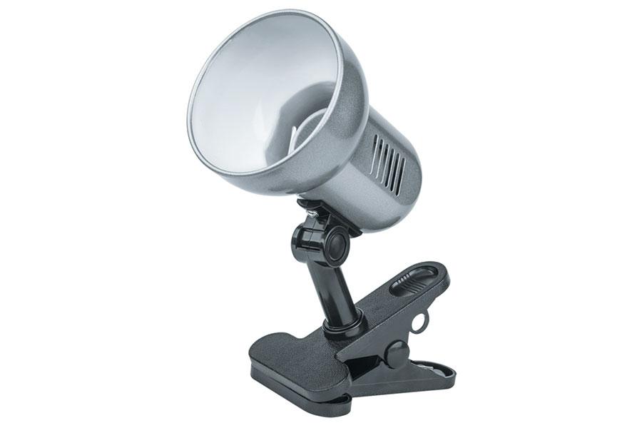 светильник-прищ.61656 Е27 60Вт серебро Navigator