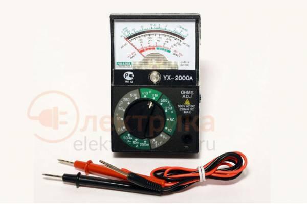 мультиметр YX-2000 A