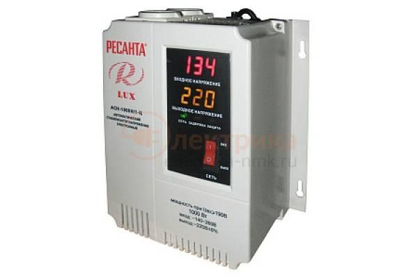 cтабилизатор АСН-1000Н/1-Ц наст.  Ресанта Lux