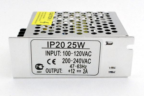 25W 12V трансформатор д/диод лент IP20 Ecola
