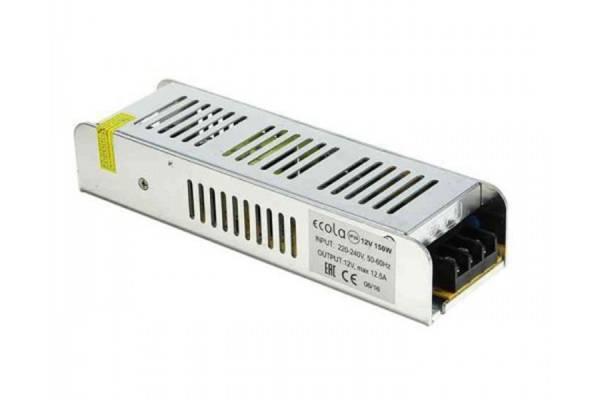 100W 12v IP20 трансформатор Ecola интерьерн.
