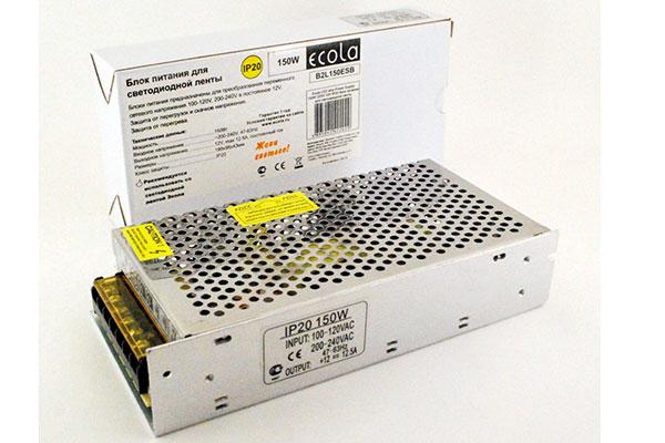 150W 12V трансформатор диод. IP53 Ecola