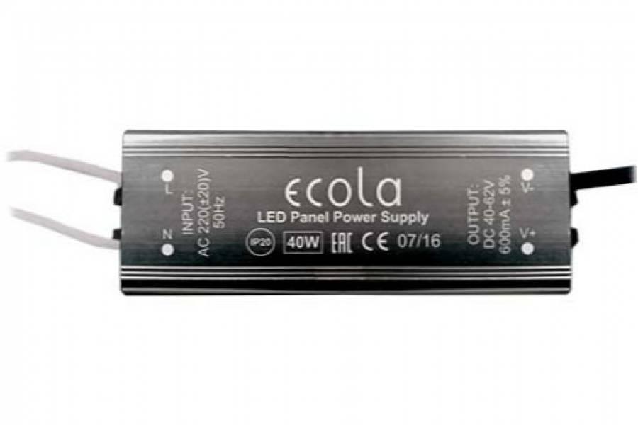 драйвер для св/д панелей 40Вт Ecola