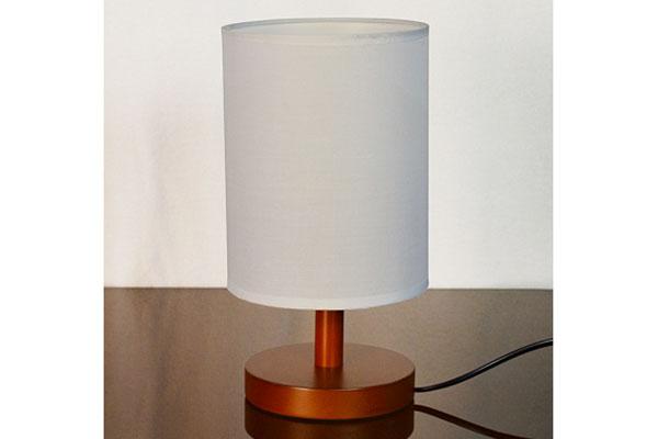 лампа наст.2035 венге/белый абажур
