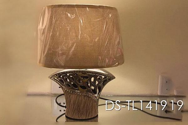 лампа наст.DS-TL1419 бежевый/бежевый абажур