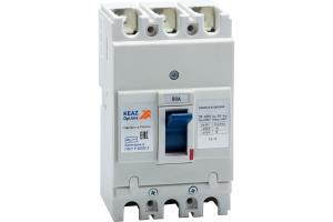 Выключатель автоматический 80А 10кА OptiMat E100L080 УХЛ3 КЭАЗ 100007