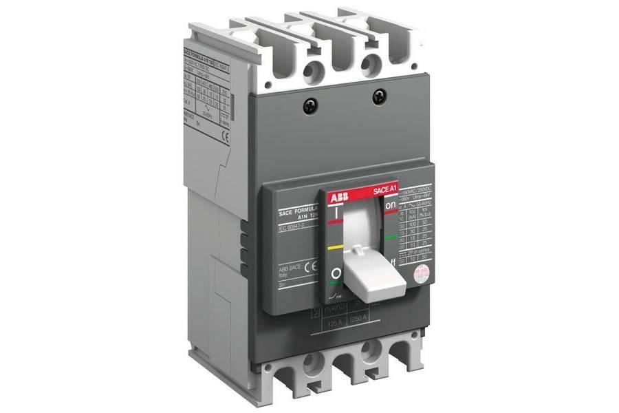 Выключатель автоматический 3п A1C 125 TMF 80-800 3p F F ABB 1SDA070309R1
