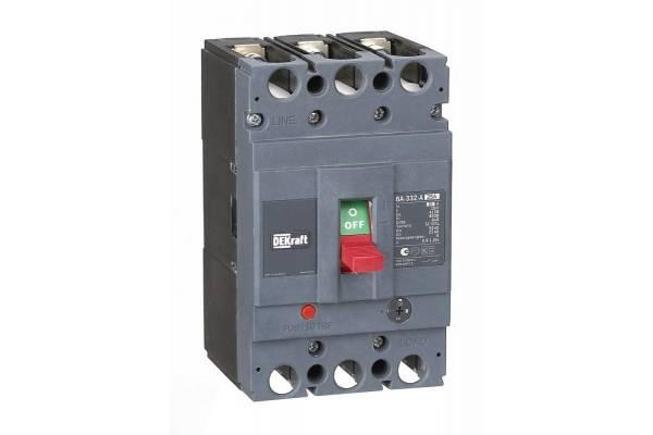 Выключатель автоматический 3п 25А диапазон уставок 20А...25А 50кА ВА-332 SchE 21131DEK