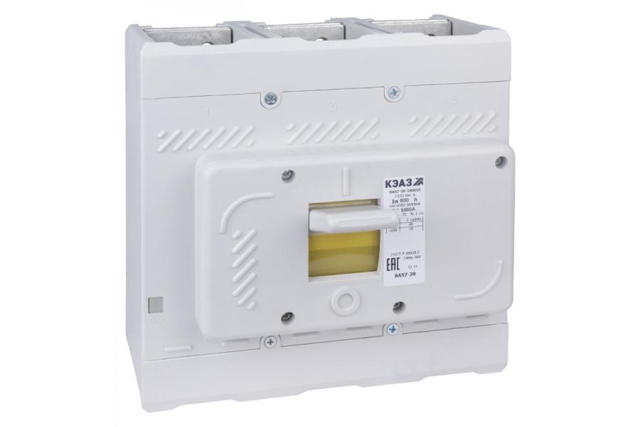 Выключатель автоматический 400А 4000Im ВА57-39-340010 УХЛ3 690В AC КЭАЗ 109883
