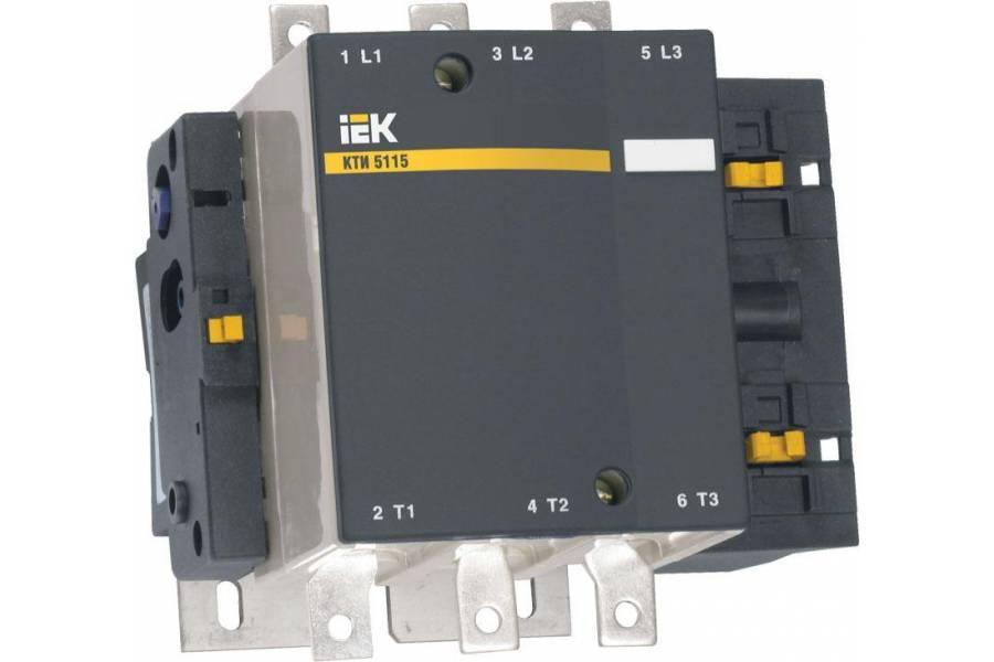 Контактор КТИ-5115 115А 400В/АС3 IEK KKT50-115-400-10