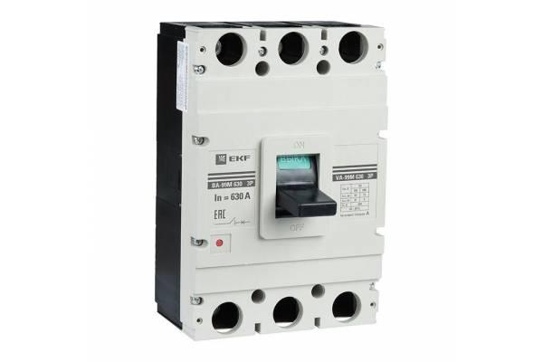 Выключатель автоматический 3п 630/630А 50кА ВА-99М PROxima EKF mccb99-630-630m
