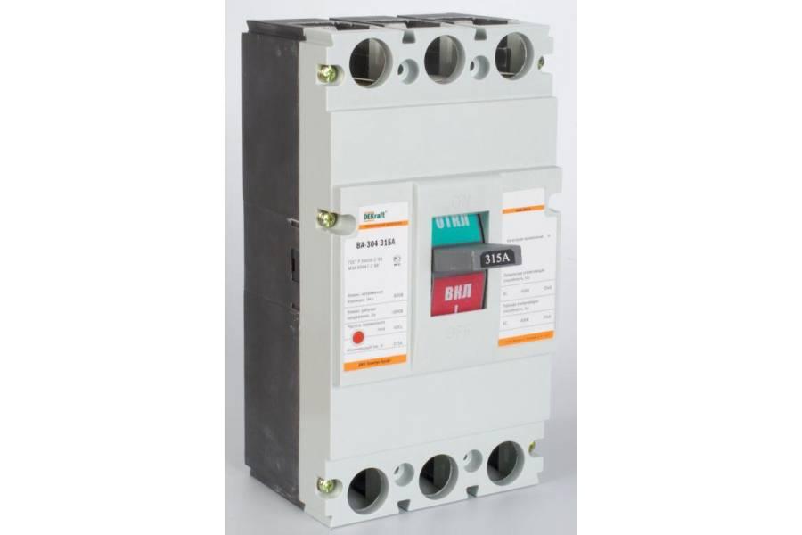 Выключатель автоматический 3п 315А 35кА ВА-304 SchE 21014DEK