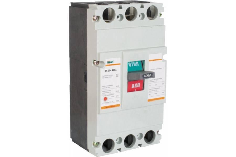 Выключатель автоматический 3п 400А 35кА ВА-304 SchE 21015DEK