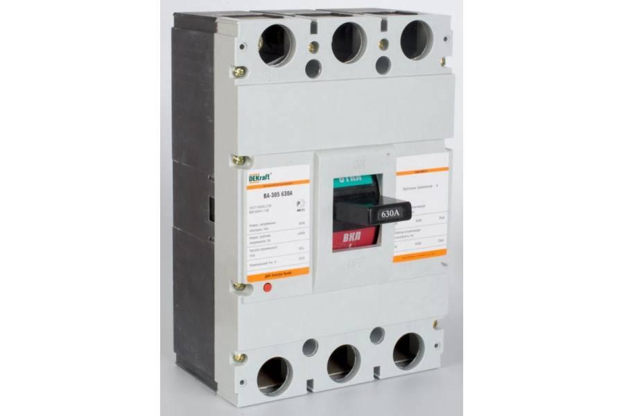 Выключатель автоматический 3п 630А 35кА ВА-305 SchE 21017DEK