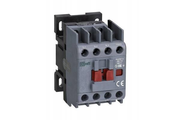 Контактор КМ-102 3п/18А 1НО 230В AC DEKraft 22003DEK