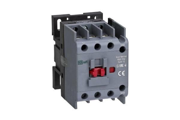 Контактор КМ-102 3п/32А 1НО 230В AC DEKraft 22005DEK