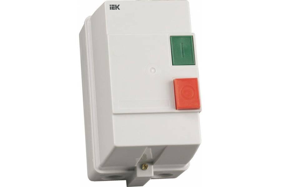 Контактор КМИ-23260 32А 220В/АС3 IP54 IEK KKM26-032-220-00
