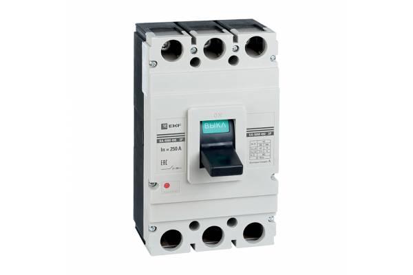 Выключатель авт. 3п ВА-99М 400/250А PROxima EKF mccb99-400-250m