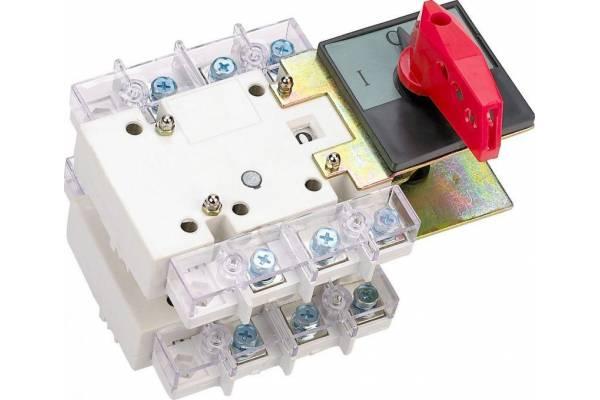 Выключатель-разъединитель 400А 3P два напр. тандем с видимым разрывом ВР-101 SchE 40155DEK