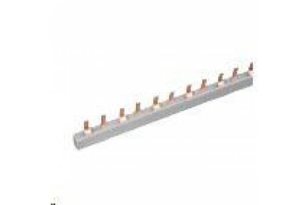 Шина соединительная PIN 2ф 63А мед. изол. 54мод (дл.1м) EKF pin-02-63