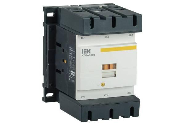 Контактор КТИе-5150 150А 230В/АС3 IEK KKTE50-150-230-10