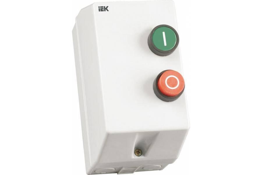 Контактор КМИ-10960 9А 220В/АС3 IP54 IEK KKM16-009-220-00