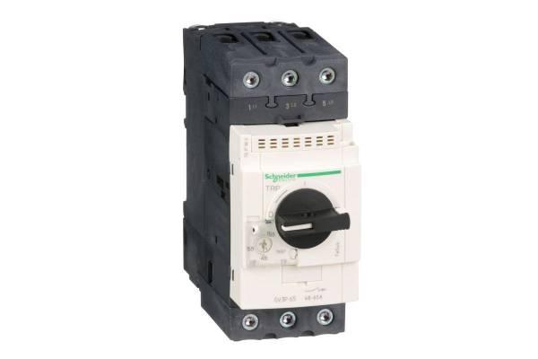 Выключатель авт. защиты двиг. P60 (48-65А) SchE GV3P65