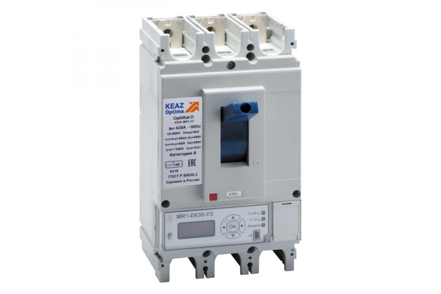 Выключатель автоматический 400А 40кА OptiMat D400N MR1 У3 КЭАЗ 279892