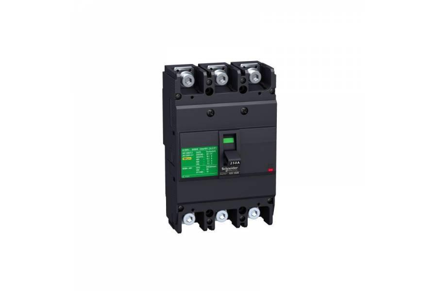 Выключатель автоматический 3п 3т 160А 18кА EZC250F SchE EZC250F3160