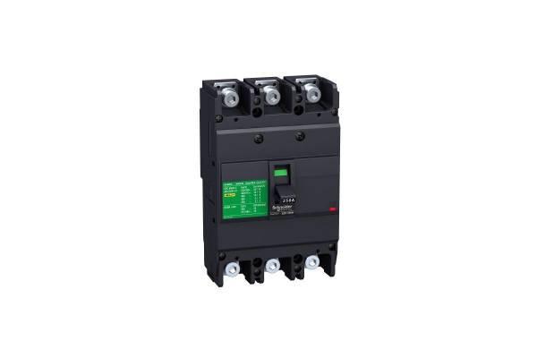 Выключатель автоматический 3п 3т 200А 18кА EZC250F SchE EZC250F3200