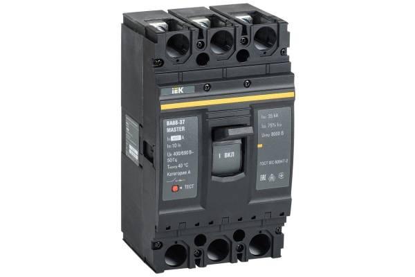 Выключатель автоматический 3п 400А 35кА ВА88-37 MASTER IEK SVA40-3-0400-02
