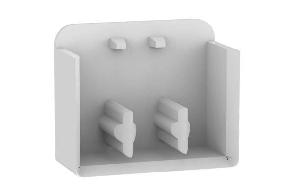 Заглушка боковая для 3п гребенчатых шин (уп.10шт) SchE EZ9XPE310