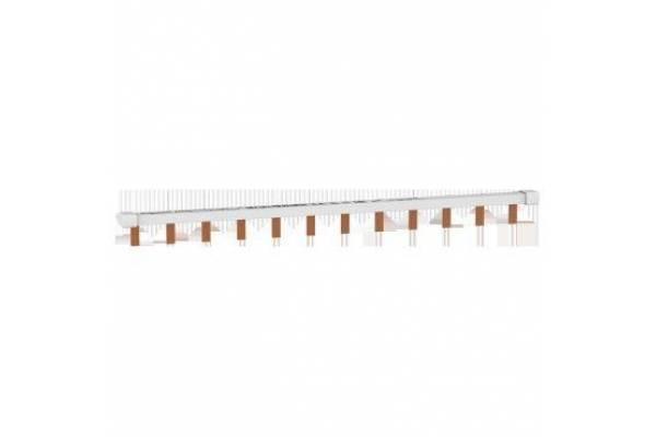 Шинка гребенчатая 1П (L1) 12мод. шаг 18мм 63А разрезаемая SchE EZ9XPH112