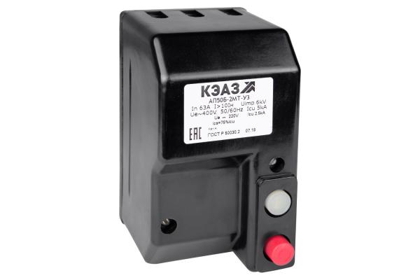 Выключатель автоматический 16А 10Iн АП50Б 2МТ У3 400В AC/220В DC КЭАЗ 106903