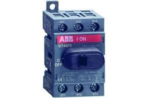 Рубильник 3п OT40F3 40А (23А AC23) ABB 1SCA104902R1001