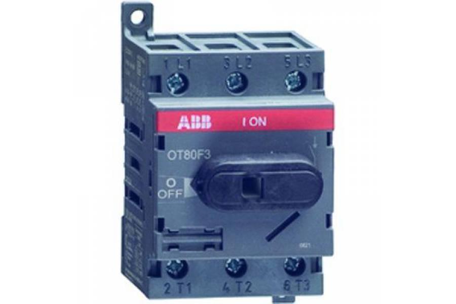 Рубильник 3п OT63F3 63А (45А AC23) ABB 1SCA105332R1001