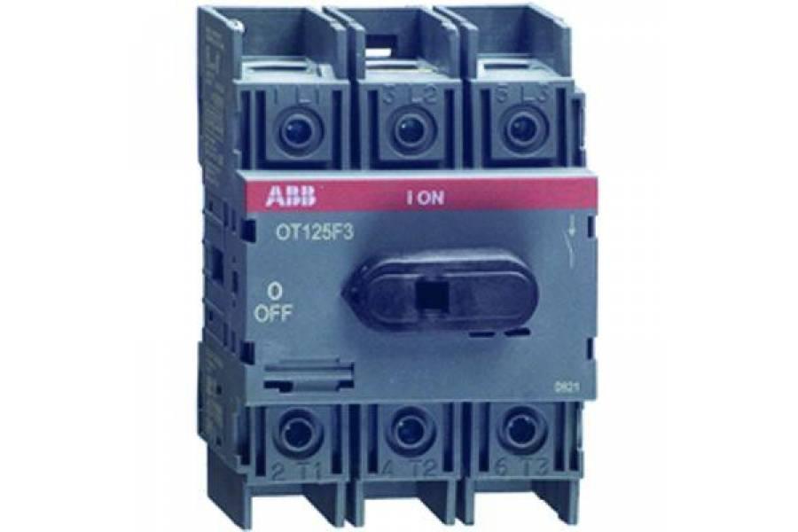 Рубильник 3п OT100F3 100А (80А AC23) ABB 1SCA105004R1001