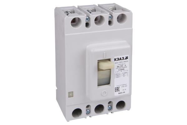 Выключатель автоматический 100А ВА51-35М1-340010 УХЛ3 690В AC КЭАЗ 108310