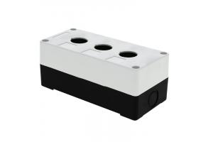 Корпус КП 103 3 кнопки белый EKF cpb-103-w