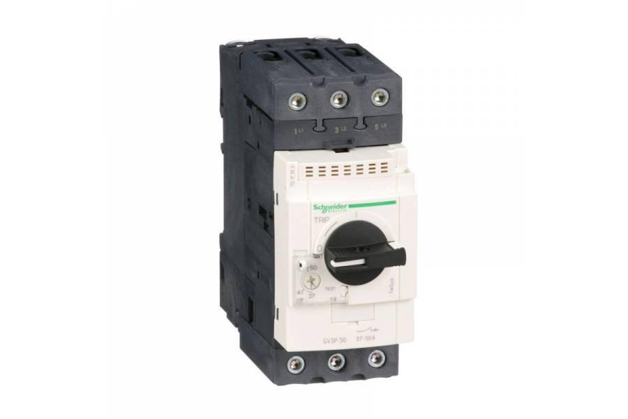 Выключатель авт. защиты двиг. P50 (37-50A) SchE GV3P50