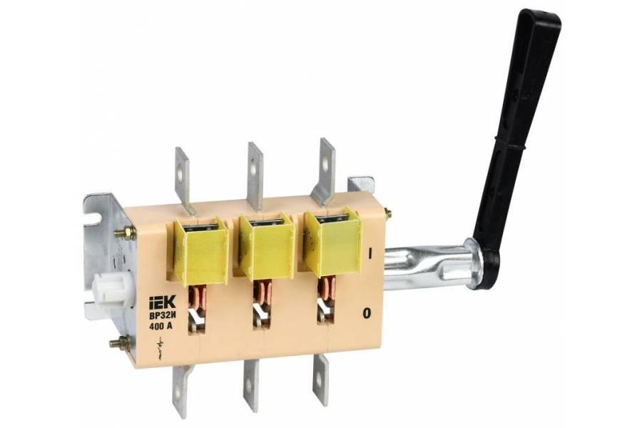 Выключатель-разъединитель ВР32И-37 В31250 400А IEK SRK31-111-400
