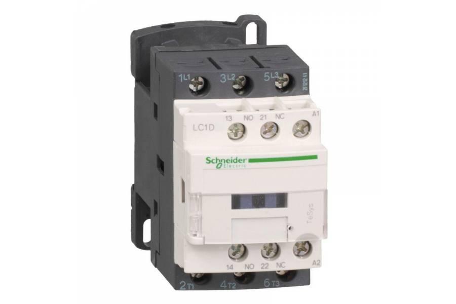 Контактор 3п 9А НО+Н3 230В SchE LC1D09P7