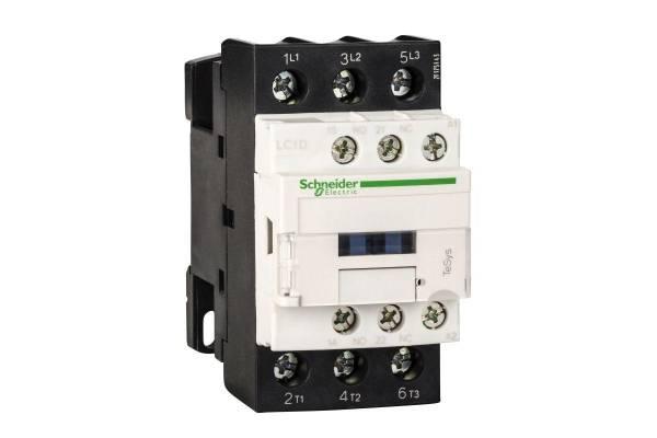 Контактор 3п 25А НО+Н3 230В SchE LC1D25P7
