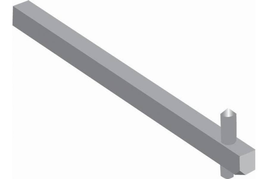 Переходник OXP6X265 265мм для ручек упр. типа OT16..125F ABB 1SCA108225R1001