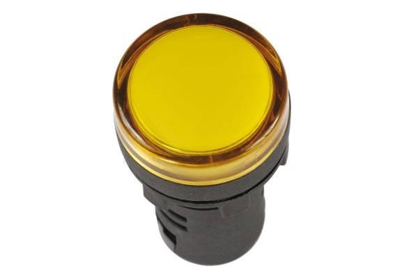 Арматура светосигнальная AD-16DS 230В желт. IEK BLS10-ADDS-230-K05-16