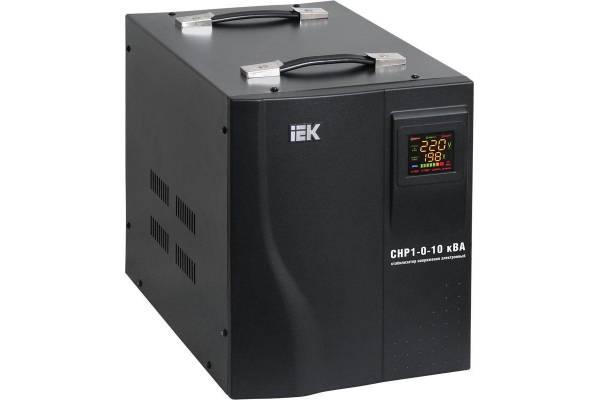 Стабилизатор напряжения HOME СНР 1/220 1кВА переносной IEK IVS20-1-01000