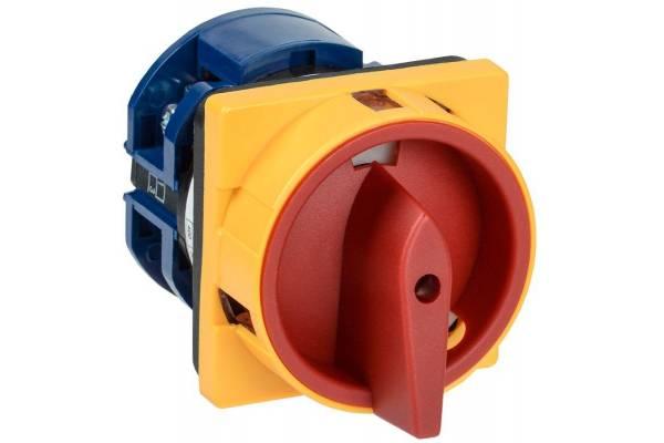 Переключатель кулачковый ПКП63-13/У 63А на 2 полож. откл. -вкл. 400В IEK BCS23-063-1
